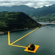 Christo en Jeanne Claude's The Floating Piers